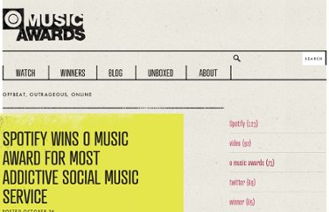 http://blog.omusicawards.com/2011/10/spotify-wins/
