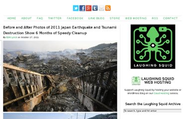 http://laughingsquid.com/before-and-after-photos-of-2011-japan-earthquake-and-tsunami-destruction-show-6-months-of-speedy-cleanup/