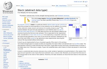 http://en.wikipedia.org/wiki/Stack_(abstract_data_type)