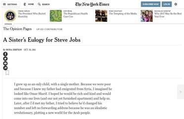 http://www.nytimes.com/2011/10/30/opinion/mona-simpsons-eulogy-for-steve-jobs.html?pagewanted=all