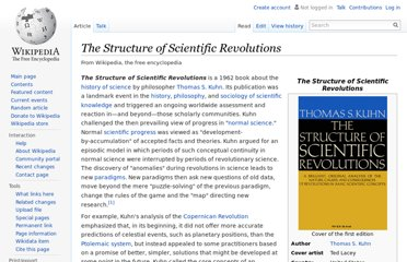 http://en.wikipedia.org/wiki/The_Structure_of_Scientific_Revolutions