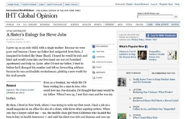 http://www.nytimes.com/2011/10/30/opinion/mona-simpsons-eulogy-for-steve-jobs.html?_r=2&pagewanted=all