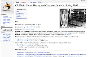 https://wiki.cc.gatech.edu/theory/index.php/CS_8803_-_Game_Theory_and_Computer_Science._Spring_2008