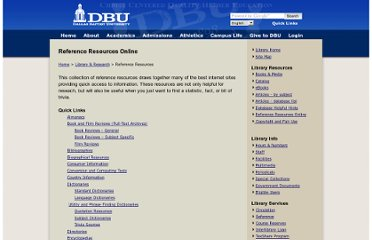 http://www3.dbu.edu/library/reference_resources.asp