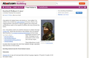 http://knitting.about.com/od/hatpatterns/a/helmetliner.htm