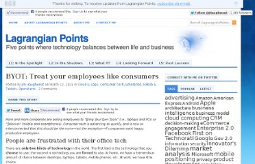 http://www.lagrangianpoints.com/2011/03/byot-treating-your-employees-like-consumers/