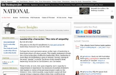 http://www.washingtonpost.com/blogs/guest-insights/post/leadership-character-the-role-of-empathy/2011/04/04/gIQAQXVGQM_blog.html