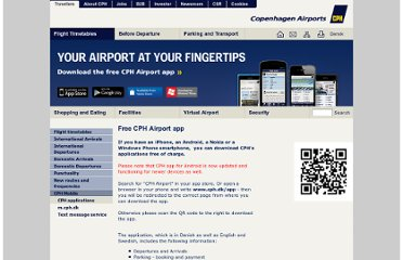 http://www.cph.dk/CPH/UK/MAIN/Flight+Timetables/CPH+Mobile/