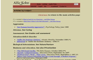 http://www.alfiekohn.org/articles_subject.htm#null