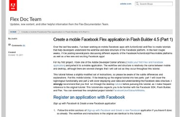 http://blogs.adobe.com/flexdoc/2011/10/create-a-mobile-facebook-flex-application-in-flash-builder-4-5-part-1.html