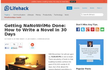 http://www.lifehack.org/articles/communication/getting-nanowrimo-done-how-to-write-a-novel-in-30-days.html