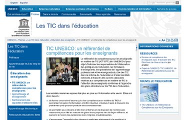 http://www.unesco.org/new/fr/unesco/themes/icts/teacher-education/unesco-ict-competency-framework-for-teachers/