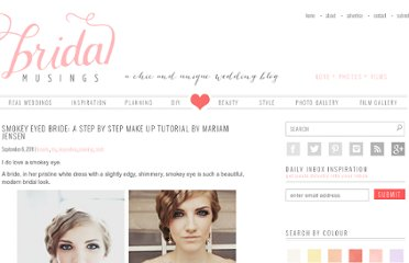 http://bridalmusings.com/2011/09/smokey-eyed-bride-a-step-by-step-tutorial-mariam-jense/