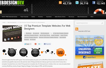 http://www.webdesigndev.com/web-development/15-top-premium-template-websites-for-web-designers