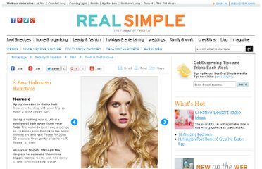 http://www.realsimple.com/beauty-fashion/hair/tools-techniques/halloween-hairstyles-00100000067850/page2.html