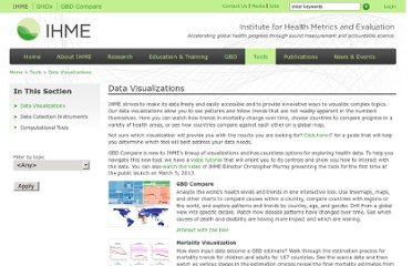 http://www.healthmetricsandevaluation.org/tools/data-visualizations
