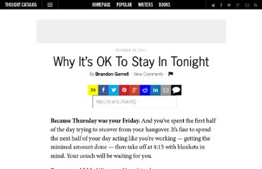 http://thoughtcatalog.com/2011/why-its-ok-to-stay-in-tonight/