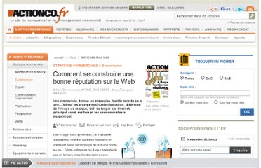 http://www.actionco.fr/Action-Commerciale/Article/Comment-se-construire-une-bonne-reputation-sur-le-Web-31646-1.htm