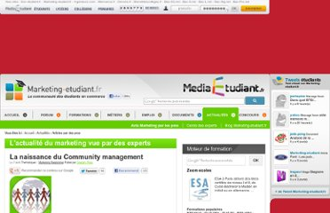 http://www.marketing-etudiant.fr/actualites/community-management.php