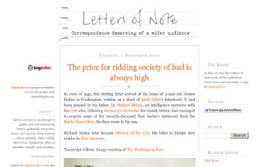 http://www.lettersofnote.com/2011/11/price-for-ridding-society-of-bad-is.html