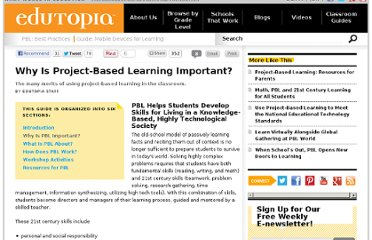 http://www.edutopia.org/project-based-learning-guide-importance
