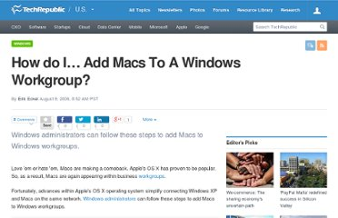 http://www.techrepublic.com/article/how-do-i-add-macs-to-a-windows-workgroup/6103719