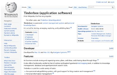 http://en.wikipedia.org/wiki/Tinderbox_(application_software)