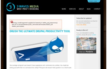 http://3wavesmedia.com/blog/drush-ultimate-drupal-productivity-tool