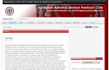 http://www.clubwebsite.co.uk/islingtonadmiralunited/History