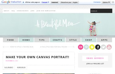 http://abeautifulmess.typepad.com/my_weblog/2011/10/make-your-own-canvas-portrait.html