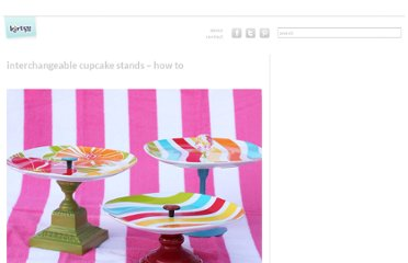 http://kirtsy.com/2011/11/02/interchangeable-cupcake-stands-how-to/