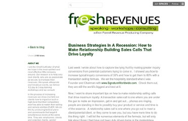 http://freshrevenues.posterous.com/business-strategies-in-a-recession-how-to-mak