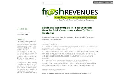 http://freshrevenues.posterous.com/business-strategies-in-a-recession-how-to-add