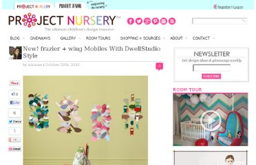 http://projectnursery.com/2010/10/new-frazier-wing-mobiles-with-dwellstudio-style/