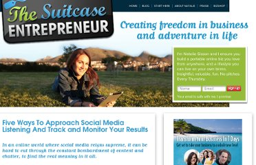 http://suitcaseentrepreneur.com/socialmedia/five-ways-to-approach-social-media-listening-and-track-and-monitor-your-results/