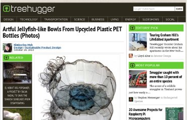 http://www.treehugger.com/sustainable-product-design/artful-jellyfish-like-bowls-from-upcycled-plastic-pet-bottles-photos.html