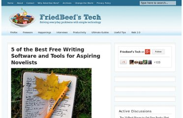 http://www.friedbeef.com/5-of-the-best-free-writing-software-and-tools-for-aspiring-novelists/