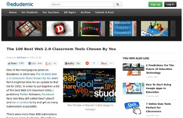 http://edudemic.com/2011/11/best-web-tools/