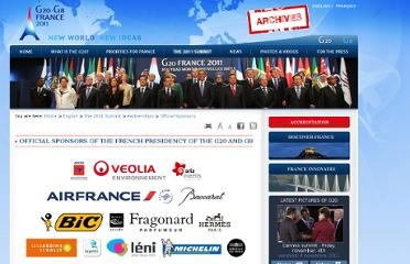 http://www.g20-g8.com/g8-g20/g20/english/the-2011-summit/partnerships/official-sponsors/official-sponsors-of-the-french-presidency-of-the.255.html