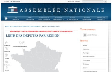 http://www.assemblee-nationale.fr/qui/xml/regions.asp?legislature=13#Ile-de-France