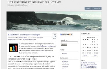 http://ie-lobbying.net/referencement/2010/01/19/reputation-et-influence-en-ligne/
