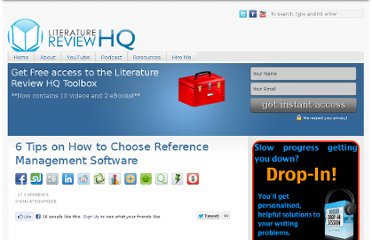 http://www.literaturereviewhq.com/6-tips-on-how-to-choose-reference-management-software/