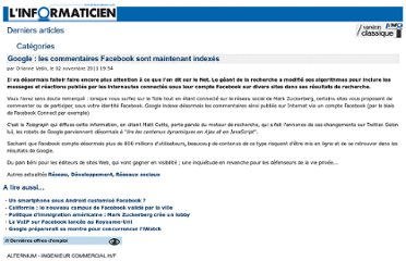 http://www.linformaticien.com/mobiles/id/22045/google-les-commentaires-facebook-sont-maintenant-indexes.aspx