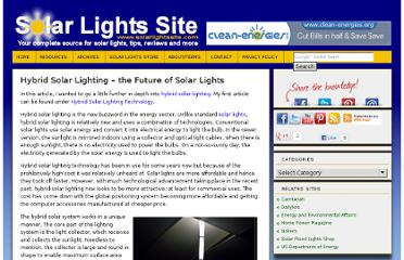 http://solarlightssite.com/hybrid-solar-lighting-the-future-of-solar-lights/