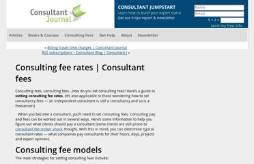 http://consultantjournal.com/blog/setting-consulting-fee-rates