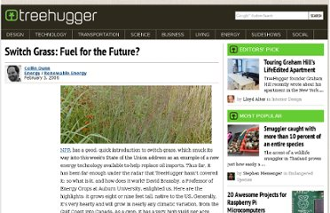 http://www.treehugger.com/renewable-energy/switch-grass-fuel-for-the-future.html