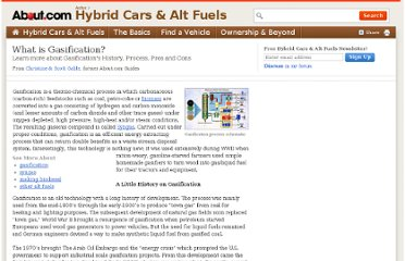 http://alternativefuels.about.com/od/researchdevelopment/a/gasification.htm