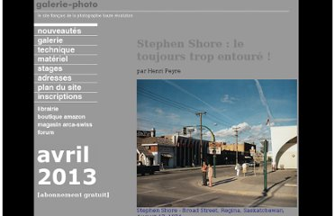 http://www.galerie-photo.com/stephen-shore.html