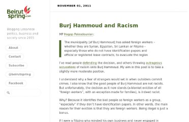 http://beirutspring.com/blog/2011/11/01/burj-hammoud-and-racism/