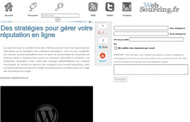 http://blog.websourcing.fr/ontheweb/strategies-gerer-reputation-ligne/